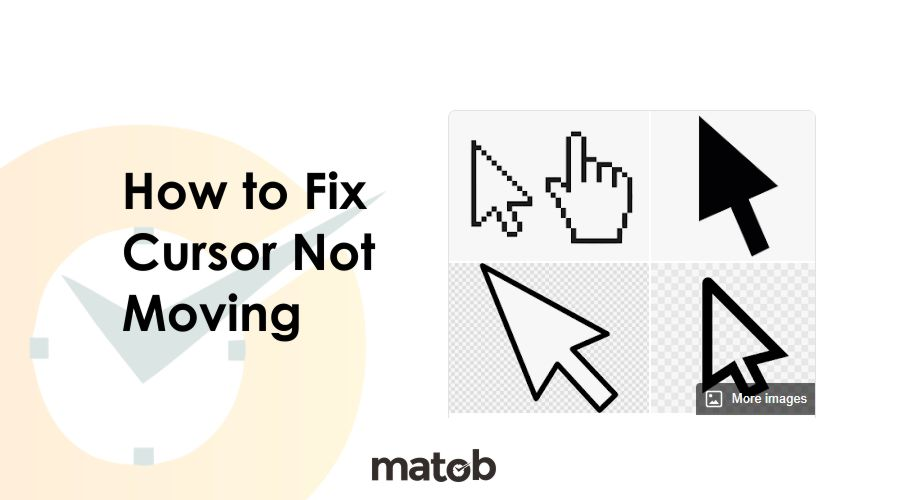 how to fix cursor not moving