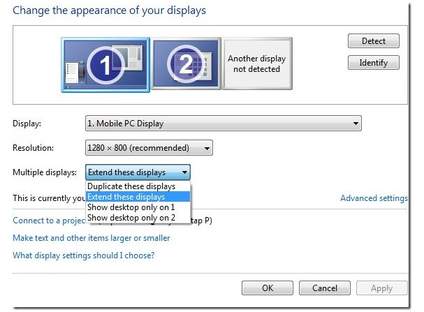 How to Install a Second Monitor on Windows 7