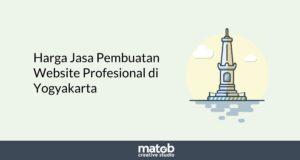 Harga Jasa Pembuatan Website Profesional di Yogyakarta