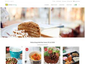 Website Toko Online onlinekatering.com