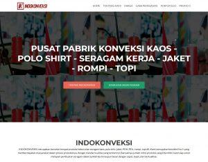Pembuatan Website INDOKONVEKSI