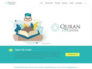 Pembuatan Website Bimbel AlQuran