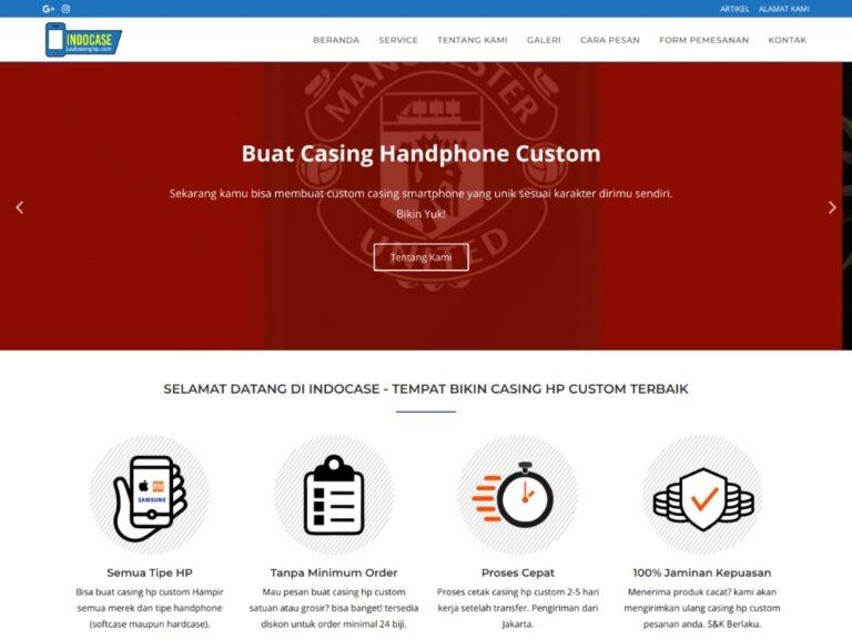 jasa pembuatan website perusahaan indocase