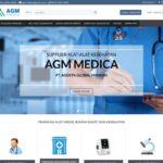 Re-Desain Website Kesehatan Agmmedica.com