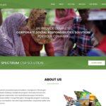 Re-Desain Website Konsultan CSR Spektrum Solution