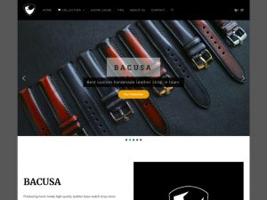 Website Pengrajin Kulit Bacusaleather.com