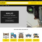 Website Toko Online Furniture Bymalio.com