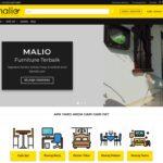 Website Toko Online Furniture Bymalio.com