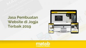 jasa pembuatan website di jogja terbaik 2019