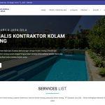 Website Kontraktor Kolam Renang