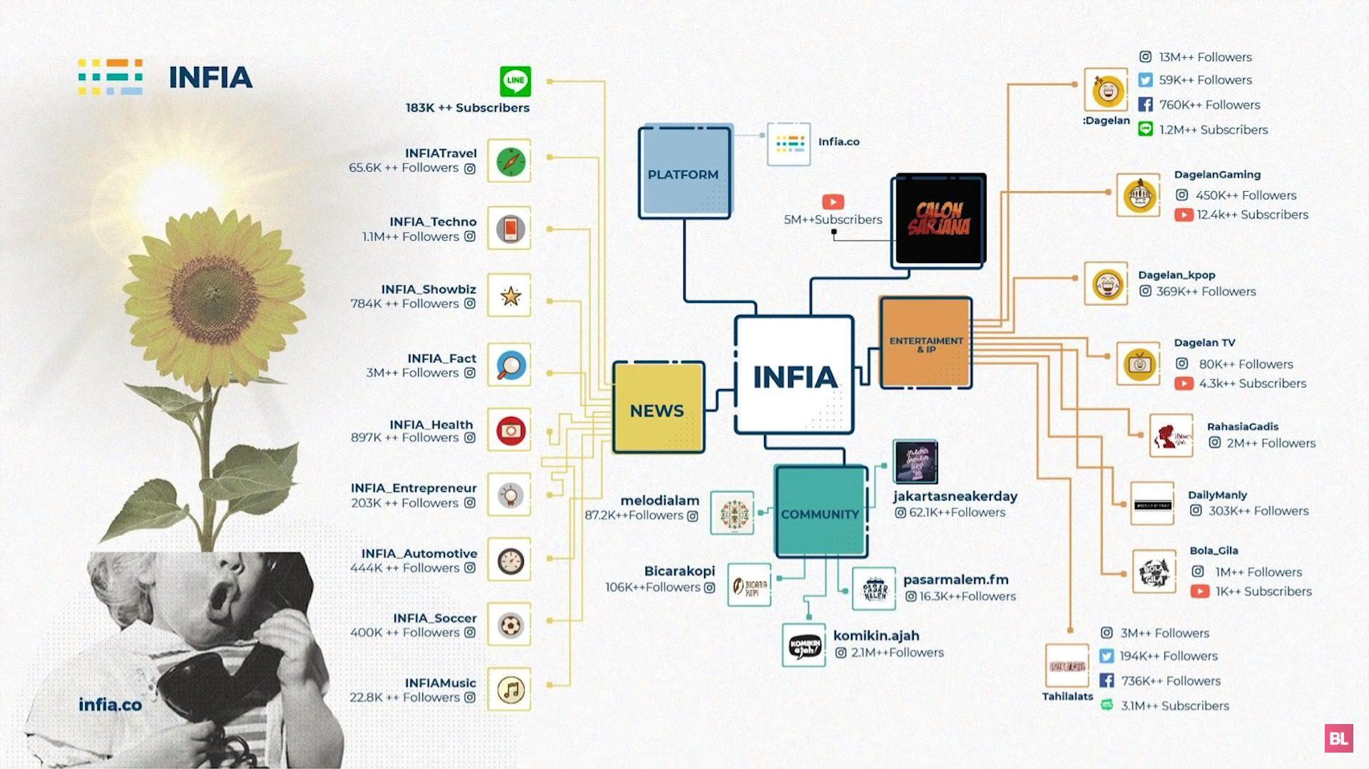 infia adalah contoh sukses bisnis sosial media