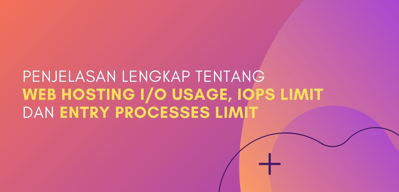 Penjelasan Lengkap tentang Web Hosting I/O Usage, IOPS Limit dan Entry Processes Limit
