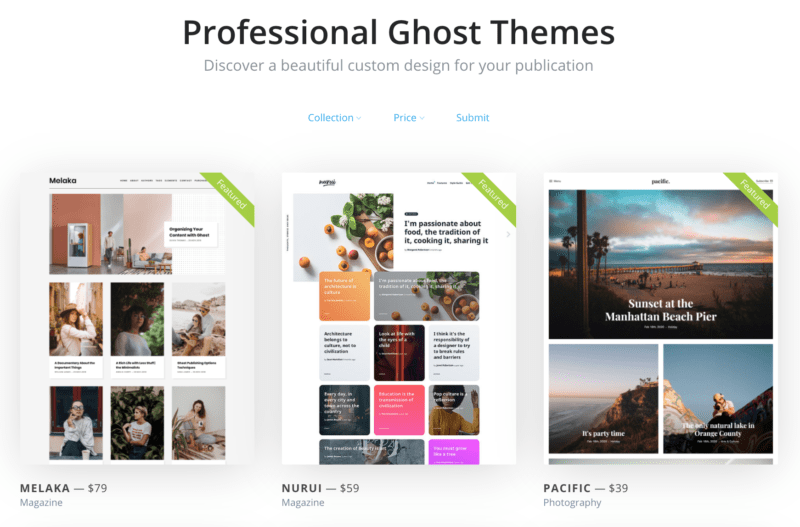 Ghost-CMS-Professional-Themes