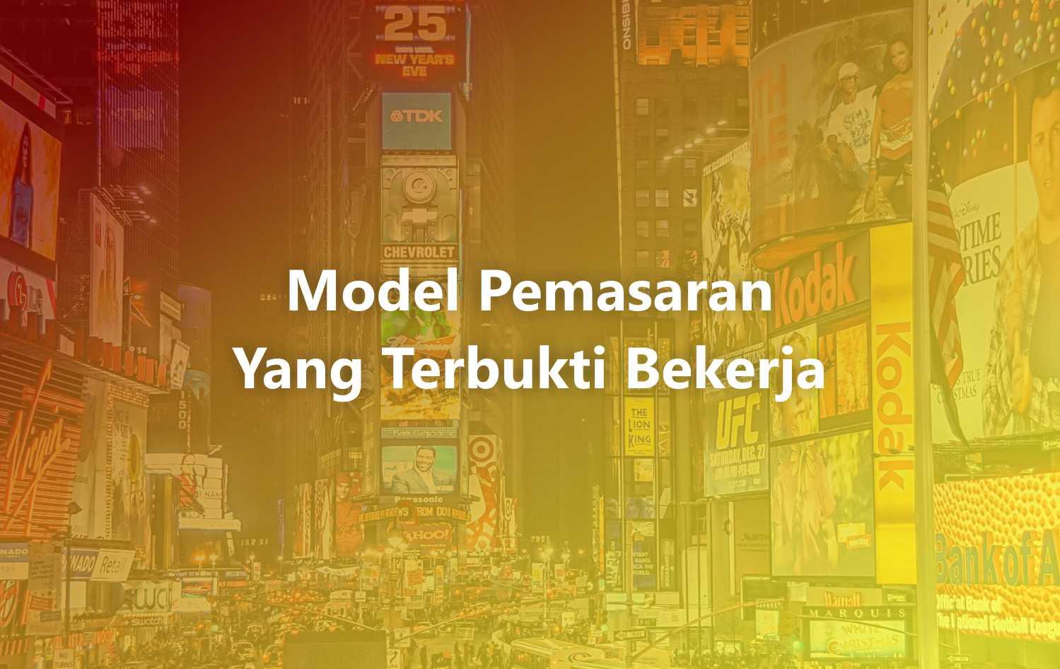 model pemasaran