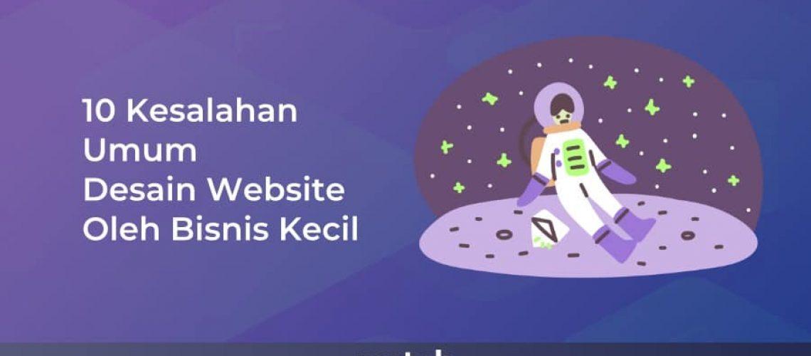 10 Kesalahan Umum Desain Website Oleh Bisnis Kecil
